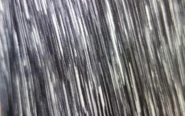 Vải thun sọc xám 2 chiều