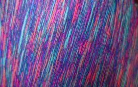 Vải thun sọc 7 màu 2 chiều