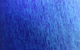 Vải thun sọc xanh dương 2 chiều