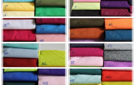 Vải da cá tixi - Nhiều màu sắc