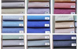 Vải Kate Ý - Nhiều màu sắc - Khổ 1.47 mét