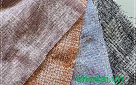 Vải bố caro (BCR02501) - Nhiều màu sắc - Khổ 1.6 mét