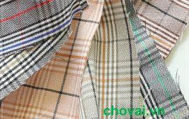 Vải bố caro đủ màu (BCR02503) - Nhiều màu sắc - Khổ 1.6 mét