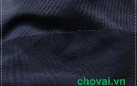 Vải poly 02 màu đen