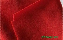 Vải la dông màu đỏ