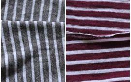 Vải cotton sọc đủ màu sắc