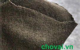 Vải len màu rêu xám