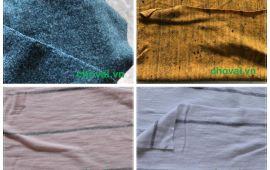 Vải cotton đủ màu sắc