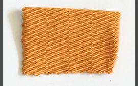 Vải da cá (DC08701) - Màu vàng đất - Khổ 1.5/1.6 mét