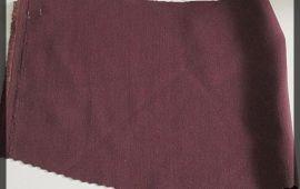 Vải quần tây (QT11110) - Màu tím than - Khổ 1.5/1.6 mét