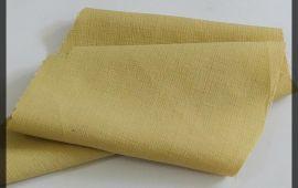 Vải xô gân (XG11119) - Màu vàng - Khổ 1.5/1.6 mét