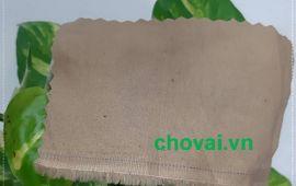 Vải kaki - Màu cà phê sữa - Khổ 1.5 mét