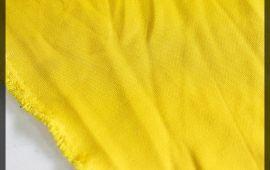 Vải chân cua (CC11202) - Màu vàng đậm - Khổ 1.5/1.6 mét