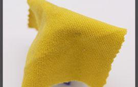 Vải chân cua (CC11203) - Màu vàng nhạt - Khổ 1.5/1.6 mét
