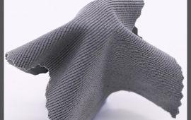 Vải chân cua (CC11206) - Màu xám nhạt - Khổ 1.5/1.6 mét
