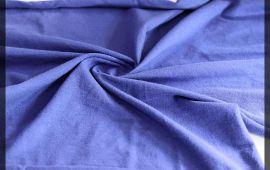Vải cotton 4 chiều (CT09304) - Màu xanh dương - Khổ 1.6 mét