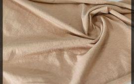 Vải cotton 4 chiều (CT09305) - Màu be - Khổ 1.6 mét