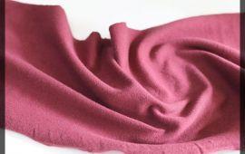 Vải cotton 4 chiều (CT09308) - Màu đỏ đô - Khổ 1.6 mét