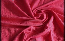 Vải cotton 2 chiều (CT09311) – Màu đỏ – Khổ 1.7 mét