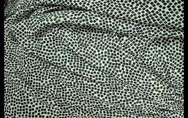 Vải voan (M.V11806) - Họa tiết ô vuông