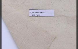 Vải bố (B12501) - Màu mộc - Khổ 1.6 mét