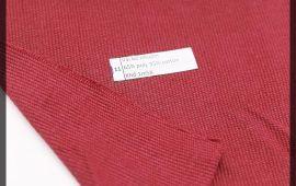 Vải bố (B12511) - Màu đỏ đô - Khổ 1.58 mét