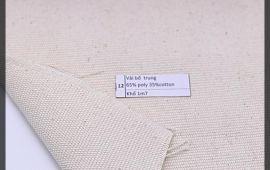Vải bố (B12512) - Màu thô - Khổ 1.7 mét