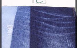Vải jeans D170615 (J12414) – Màu xanh – Khổ 1.45/1.5 mét