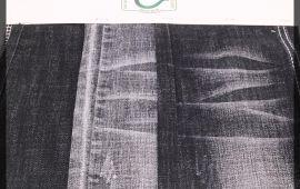Vải jeans A9802 (J12417) – Màu đen – Khổ 1.45/1.5 mét