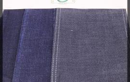 Vải jeans T7201 (J12418) – Màu xanh,đen – Khổ 1.45/1.5 mét
