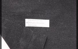 Vải bố (B12519) - Màu đen - Khổ 1.58 mét
