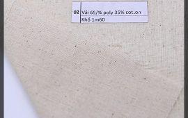 Vải bố (B12502) - Màu mộc - Khổ 1.6 mét
