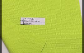 Vải bố (B12523) - Màu xanh chuối - Khổ 1.6 mét