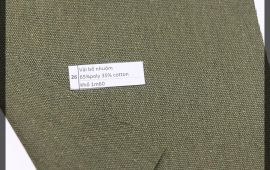 Vải bố (B12526) - Màu rêu - Khổ 1.6 mét