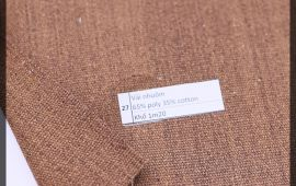 Vải bố (B12527) - Màu nâu - Khổ 1.2 mét