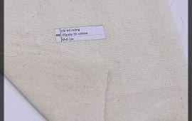 Vải bố (B12504) - Màu kem - Khổ 1 mét