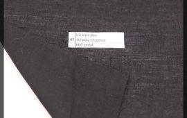 Vải bố (B12507) - Màu đen - Khổ 1.54 mét