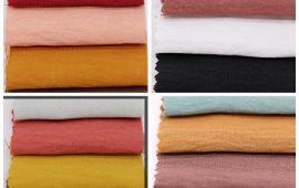 Vải đũi Hàn Quốc (D12209) - Nhiều màu sắc - Khổ 1.6 mét