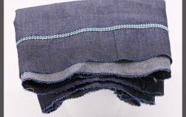 Vải jeans (J12301) - Màu xanh đen - Khổ 1.5 mét