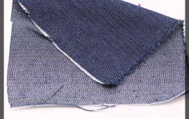 Vải jeans (J12402) - Màu xanh đen - Khổ 1.5 mét