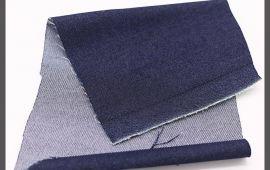 Vải jeans (J12405) – Màu xanh đen – Khổ 1.5 mét