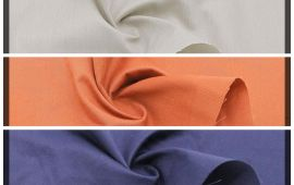 Vải kaki 65/35 (KK13101) - Nhiều màu sắc - Khổ 1.48/1.5 mét