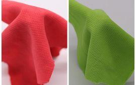 Vải mè (M12001) - Màu đỏ, xanh lá - Khổ 1.6 mét