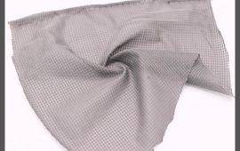 Vải mè (M12104) - Màu xám - Khổ 1.6 mét