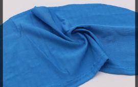 Vải poly (PL12003) - Màu xanh dương - Khổ 1.6 mét