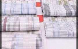 Vải kate sọc (KT13932) - Nhiều màu sắc - Khổ 1.2 mét