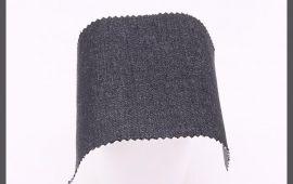 Vải jeans co dãn (J14202) - Màu đen - Khổ 1.55 mét