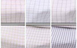 Vải kate sọc (KT13933) - Nhiều màu sắc - Khổ 1.2 mét