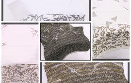 Vải kate bông (KT13939) - Nhiều màu sắc - Khổ 1.2 mét