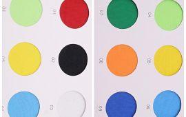 Vải poly (PL14001) - Nhiều màu sắc - Khổ 1.656 mét